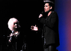 Cyndi Lauper & Adam Lambert Beacon Theatre 2012-12-08 (Houari B.) Tags: cyndilauper beacontheatre homefortheholidays adamlambert truecolorsfund