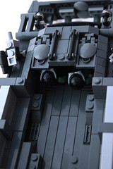 Armadillo AFV, Hell on Treads. (Lego Junkie.) Tags: tank lego ba armadillo baf brickarms