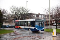 SSH_205 (Stuart's Transport) Tags: bus flood 11 39707 enviro200 stagecoachsouthshields nk58afy man14240