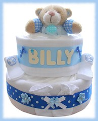 Nappy cake (103) (Labours Of Love Baby Gifts) Tags: babygift nappycake nappycakes newbabygifts