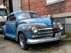 1947? Plymouth Coupe (J Wells S) Tags: ohio rust rusty crusty vanwert 1947plymouthcoupe