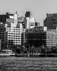 East River (9) at Robert Wagner Sr Place (shooting all the buildings in Manhattan) Tags: newyorkcity newyork 2016 architecture august manhattan ny nyc us watchtower eastriver