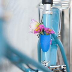 Cute 3D-Printed Flower Planters for Bicycles (PhotographyPLUS) Tags: articles footage freephoto graphics illustrations images photos pictures stockimage stockphotograph stockphotos