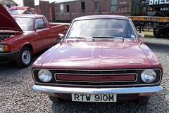 1974 MORRIS MARINA 1800 SALOON 1798cc RTW910M (Midlands Vehicle Photographer.) Tags: 1974 morris marina 1800 saloon 1798cc rtw910m
