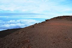 Haleakala summit (heartinhawaii) Tags: maui haleakala lavarocks fog foggy mist misty cloudy moody serene upcountry summit volcanosummit haleakalasummit 10023feet 10023elevation mauivolcano hawaii mauiinnovember nikond3300