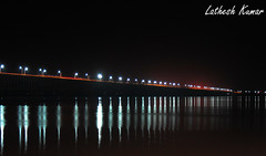 IMG_0366 (latheshkumar1) Tags: godavari rajahmundry lathesh kumar night bridge longexposure