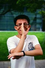 Graduation 2016-7 (Enix Xie) Tags: taiwan taichung wufeng asiauniversity  graduation people life kodakcolorplus200 kodak nikon nikkor filmcamera  f2a nikonf2photomica photomic nikon55mmf28afmicro
