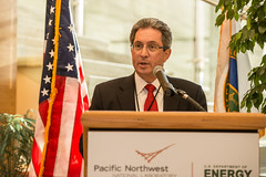 Director Steven Ashby Thanks Distinguished Guests (Pacific Northwest National Laboratory - PNNL) Tags: doe pnnl pacificnorthwestnationallaboratory departmentofenergy secretaryofenergy ernestmoniz mariacantwell