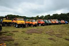 DSC_3164 (2) (Kopie) (azu250) Tags: ravels belgie weelde 3e oldtimerbeurs car truck tractor classic mercedes unimog