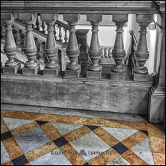Escherical (MarioVolpi) Tags: escher hdr escalera stairs balaustrada columnas argentina argentine arquitectura architecture marmo marmol canon60d la plata