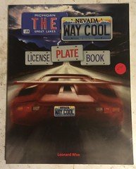 THE LICENSE PLATE BOOK license plate book  V (woody1778a) Tags: books licenseplate numberplate registrationplate mycollection myhobby literature woody
