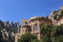Monasterio de Montserrat. (DinoPC) Tags: greatshot catalunya picoftheday al|shots monasterio barcelona montserrat
