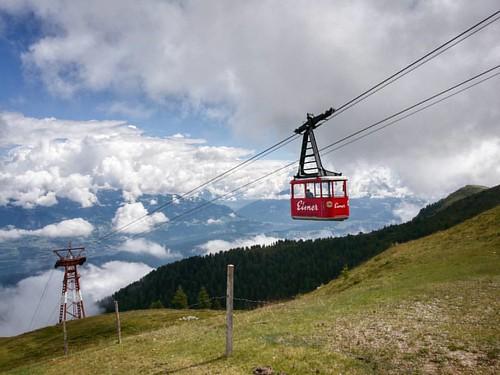 #goldeck #calblecar #funivia #clouds #alps #alpi #carinthia