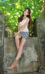 IMG_4851 (c0466art) Tags: lovely cute pretty university taiwan girl  beautiful eyes figure slim long hair sweet smile nextdoor kind charming gorgeous out door portrait light canon 1dx c0466art