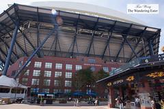 Arthur Ashe Stadium (thewanderingeater) Tags: usopen nyc newyorkcity coronapark tennis chefs foodpresspreview usopen2016