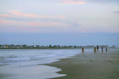 Family Vacation (Janine J. Nelson) Tags: family vacation shore beach ocean sea sunset nature people walking seaislecity newjersey jerseyshore