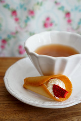 tea time (*tmk*) Tags: sweet styling tabletop table tablewear tea time summer flower bokeh sweets pink white