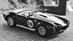clasico (ojoadicto) Tags: blackandwhite blancoynegro auto car juguete miniatura escala clasico