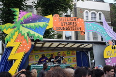 DSC_0681 Notting Hill Caribbean Carnival London Aug 29 2016 Different Strokes Sound System (photographer695) Tags: notting hill caribbean carnival london costume lady performer showgirl aug 29 2016 different strokes sound system