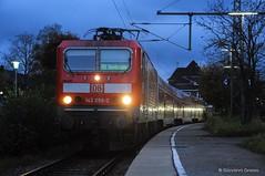 DB REGIO - TITISEE (Giovanni Grasso 71) Tags: titisee bodensee br143 nikon d90 giovanni grasso locomotiva elettrica db regio