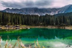 Lago di Carezza (glank27) Tags: lago lake carezza trentino italy karl glanville photography mountains dolomites dolomiti reflection eos 70d efs 1585mm f3556 landscape