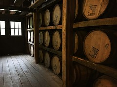 bourbon (Already in Existence) Tags: bourbon barrels old alcohol kentucky wood grain