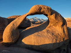 Mbius Arch (Dustin LeFevre) Tags: sierranevadas southwest desert arch alabamahills mbius california