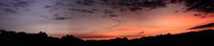 Abendrot Panorama 2 (Rüdiger Stehn) Tags: 2000s europa mitteleuropa deutschland germany norddeutschland schleswigholstein 2000er altenholz abendrot abend abendstimmung himmel wolken sonnenuntergang canoneos550d rüdigerstehn kiel altenholzstift fenster4stockaltenholzstift