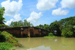 /Mirkadim bridge (sabbir ahmed abeir ( MD SABBIR)) Tags: heritage bangladesh beautiful beauty bangladeshi sky water river natural national dhaka place explore explored explorebangladesh inexplore