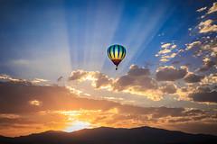 boise balloon clasic-09-01-16-37 (Ken Folwell) Tags: sunrise balloons geese orange idaho canon5dmkiii clouds boise outdoor sky