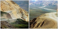 Denali NP ~ Tundra Wilderness Tour (karma (Karen)) Tags: denalinp alaska tundrawildernesstour usparks mountains roads scary