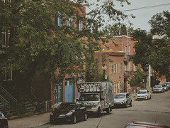 Beaudry () Tags: montreal quebec rue beaudry gay village urban street graffiti industrial rowhouses