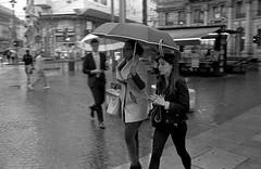 Showers (bingley0522) Tags: bessar2a canon35mmf20ltm tmax400 hc110h epsonv500scanner milan milano showers rain umbrellas autaut