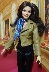 Jaclyn Smith Barbie doll (swipernooswiping) Tags: barbie charliesangels artdoll mego barbiedoll kendoll farrahfawcett ooakdoll jaclynsmith fashionroyalty celebritydoll rerootdoll repaintdoll megodoll charliesangelsdoll farrahfawcettdoll jaclynsmithdoll