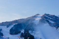 Winter wonderland at Hyundai Sungwoo Resort, South Korea (UweBKK (α 77 on )) Tags: mountain snow ski ice sport day sony south korea resort clear alpha dslr hyundai 550 wonju gangwon sungwoo pwwinter