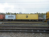 608371 Crewe Basford Hall 210412 (Dan86401) Tags: wagon flat container fl outer freight modal msc fsa freightliner 608 intermodal maersksealand crewebasfordhall 608371
