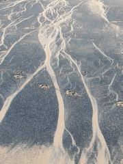 Tentacled Mask (Munki Munki) Tags: art beach tide sands ephemeral redcar coatham southgare seacoal