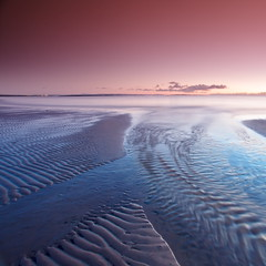Shapes andTones (PeterYoung1) Tags: uk longexposure pink blue seascape beach nature beautiful landscape scotland scenic westkilbride