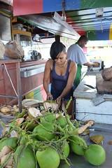 Fresh coconut (sleepyibis) Tags: france french saintmartin netherland caribbean collectivity