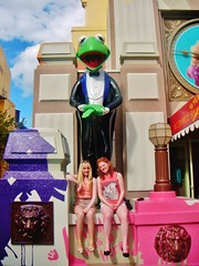 Hollywood Studios (Elysia in Wonderland) Tags: world christmas usa holiday animal statue shop america store lucy 3d orlando december florida muppets lion disney vision hollywood figure figurine studios muppet mgm kermit 2012 elysia muppetvision