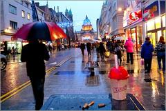 Liquid sunshine in Belfast (McArdle's5) Tags: rain photography belfast butts northernireland umbrellas ulster belfastcityhall belfastcitycentre belfastcitycouncil panasonicdmcfx30 belfastphotography
