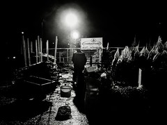 "Dark Encampment ""Christbaumwald"" (Yves Roy) Tags: street shadow urban blackandwhite bw black contrast dark austria blackwhite raw moody darkness noiretblanc 28mm snap christmastree gloom yr enigmatic fav10 ricohgrd grdiii bureboke treeslaughter yvesroy yrphotography"
