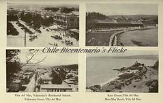 Via a principios del 1900s (Chile en el Bicentenario, 2010.) Tags: city vintage antique views 1900s viadelmar