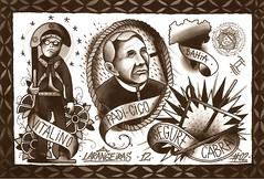 PADRE CICERO (Leandro Larangeiras) Tags: tattoo forró folclore padrecicero tattooflash mestrevitalino