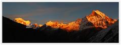 #3. Sundown at ABC (PhotoPixel) Tags: nepal sunset annapurnasanctuarytrek annapurnabasecamp annapurnaiii machapuchare gandarbhachuli