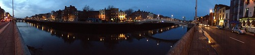 Ha'penny Bridge panorama, Dublin by acb, on Flickr