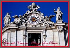 Citt del Vaticano - Piazza San Pietro - (Giampy44) Tags: italy roma statue panasonic vaticano sculture sanpietro barocco campanili chiese cittdelvaticano piazze