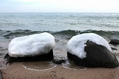 Gdynia - Baltic Sea, Poland (LeszekZadlo) Tags: winter sea naturaleza cold water landscape europe natureza poland polska paisaje baltic polen landschaft zima polonia woda paisage pomerania pommern pologne gdynia morze pomorze natore pejza