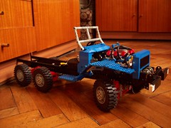 LEGO Technic Dodge WC63 (Ciezarowkaz) Tags: truck lego technic dodge wc63 lugpol