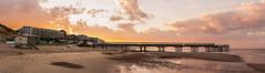 (Attila Pasek (Albums!)) Tags: panorama colour dawn golden boscombepier